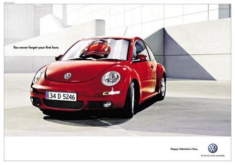 volkswagen valentines volkswagen beetle quot valentine s day quot print ad by medina