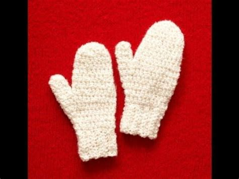 pattern gloves youtube easy to crochet mittens lion brand pattern my free