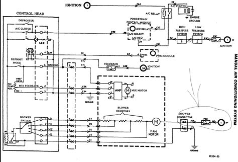 jeep grand blower motor wiring diagram free
