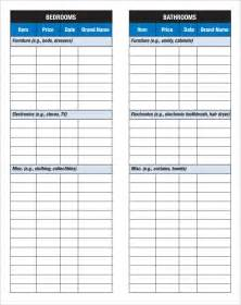inventory checklist template 22 free word pdf documents