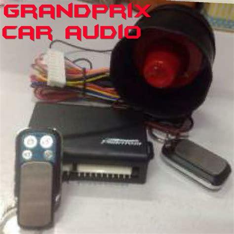 Alarm Central Lock grandprix car audio tlp 081216152345 toko dan bengkel