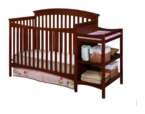 Crib N by Delta Children Walden Crib N Changer Spiced Cinnamon