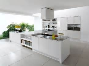 White Kitchen Floor Ideas Alluring Sleek White Ceramic Floor Tile For Contemporary