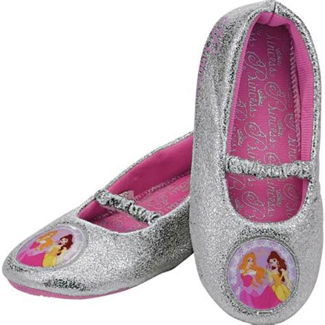 slippers argos disney princess grey slippers size 8 12 half price