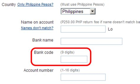 what does bank code paypal bank codes for philippines calvin s hub