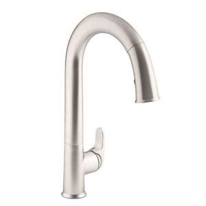 kohler sensate kitchen faucet kohler sensate ac powered touchless kitchen faucet in