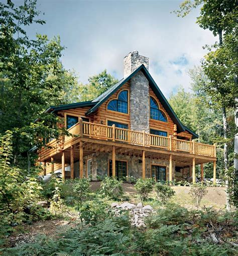 golden eagle log homes mountainside log homes photos