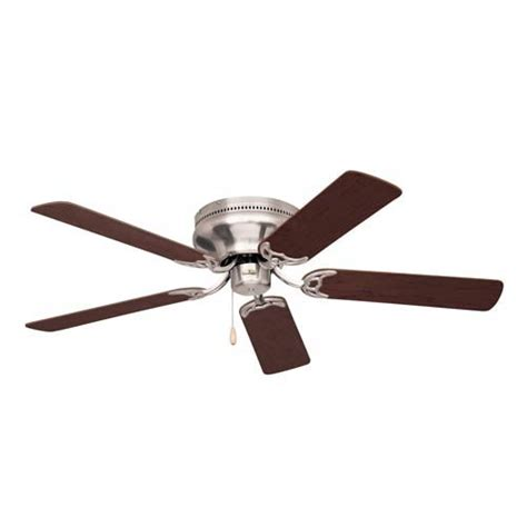 emerson fans snugger 42 inch brushed steel ceiling fan on sale