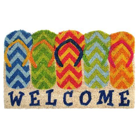 flip flop rug flip flop welcome doormat