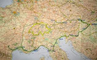 Road Map Of Europe by My Road Trip In Europe 4600km Xarj Blog And Podcast