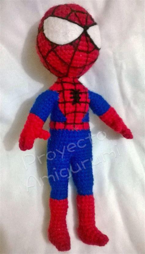 spiderman doll pattern amigurumi spiderman patr 243 n gratis de proyecto amigurumi