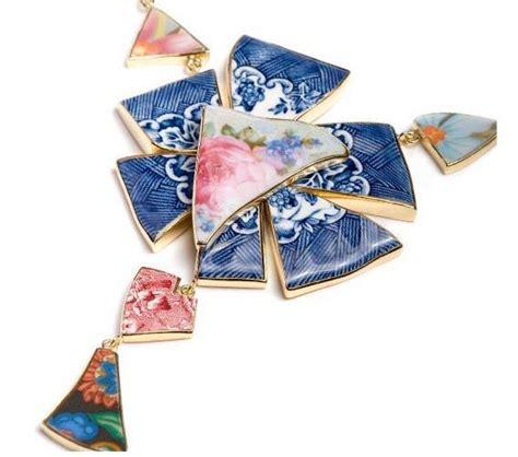 recycle broken crockery multi colored broken crockery unique jewelery xcitefun net