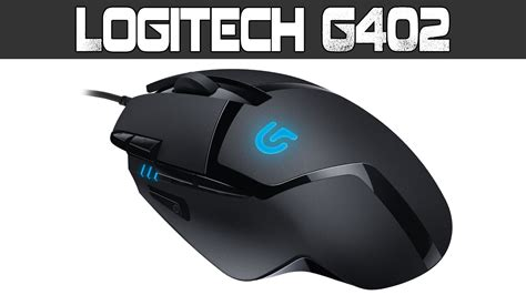 Mouse Logitech Gaming G402 logitech g402 hyperion fury fps gaming mouse unboxing
