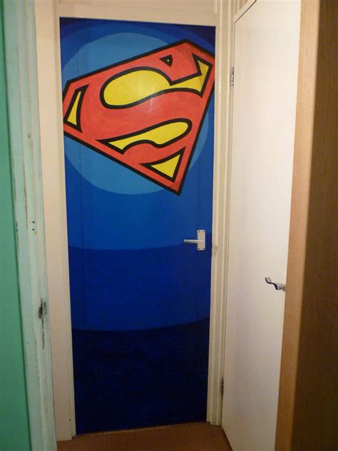 Superman Three Doors by Superman Logo Bedroom Door By Thelaststormtrooper On