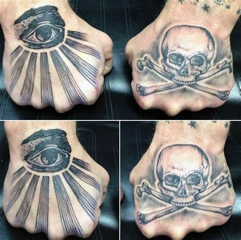 skull and crossbones tattoo 90 masonic tattoos for freemasonry ink designs