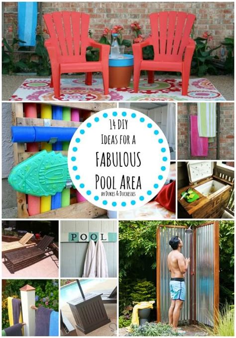 Decorating Ideas For Pool Area 14 Diy Ideas For A Fabulous Pool Area Dukes And Duchesses