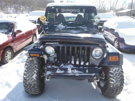 1997 Jeep Parts 1997 Jeep Tj Front Tj Front L Used Auto Parts