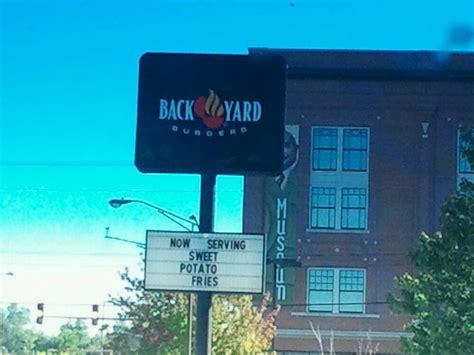 backyard burger little rock back yard burgers closed burgers 824 broadway st