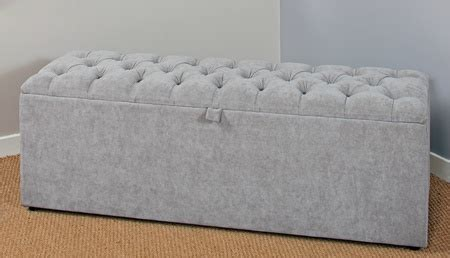 Modern Upholstered Ottoman Box Blanket Boxes Any Size Ottoman Boxes