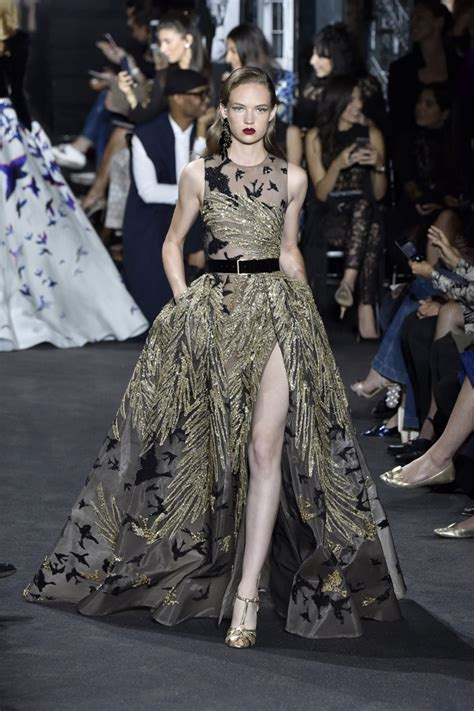 Fashion Week Fall 07 Where Was The In Roi Second City Style Fashion by Elie Saab At Fashion Week Haute Couture Fall