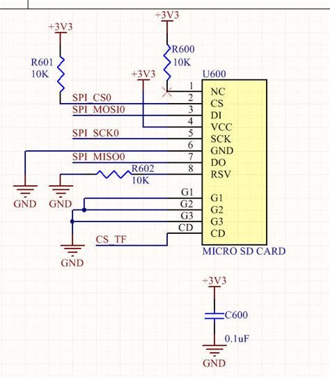 capacitor pcb layout pcb design capacitor for tf card placement on pcb layout electrical engineering stack exchange