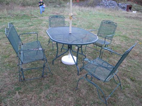Furniture Patio Furniture Dining Sets Outdoor Wicker Wrought Iron Patio Furniture Sets