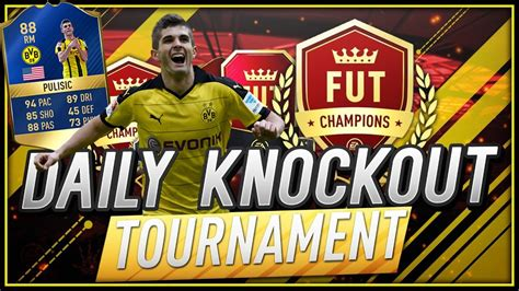 christian pulisic in fifa 17 fifa 17 christian pulisic 88 tots daily knockout