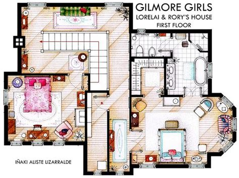 layout of gilmore house gilmore girls news and random facts random stuff