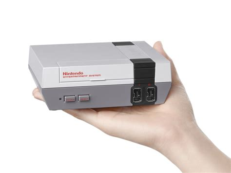 nes 2016 achat vente nes nintendo is launching a mini version of its iconic nes console with 30 classic techcrunch