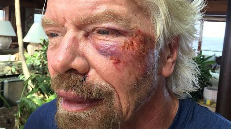 biography of richard branson richard branson s life flashed before eyes in bicycle