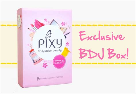 Make Up Kit Pixy Unboxing The Pixy Exclusive Bdj Box Project Vanity