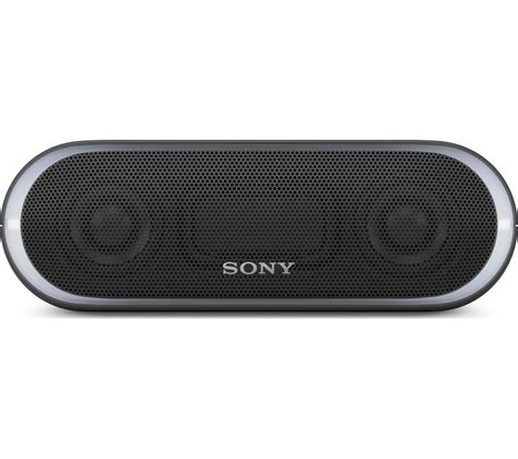 Sony Srs Xb20 Black sony srs xb20 portable bluetooth wireless speaker black