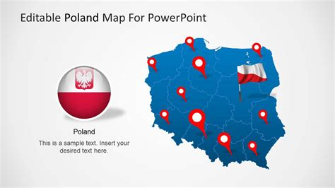 Editable Poland Map Template For Powerpoint Slidemodel Editable Powerpoint Templates