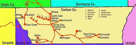 Carbon County Records Maps Of Carbon County