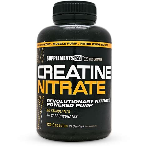 creatine nitrate supplements sa creatine nitrate
