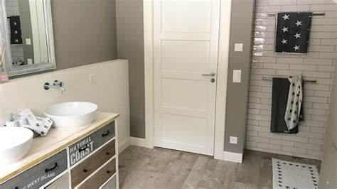 bade bathroom badezimmer im farmhouse und new england stil beachhouse