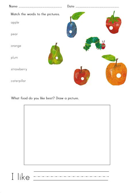 The Hungry Caterpillar Printables