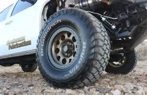 Beadlock Wheels For Chevy Truck 2007 Chevrolet Silverado Bfgoodrich Kmc Low Angle Lpr
