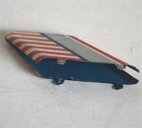 boat car robot japan robot boat 50 s tin fin original tin toy space part