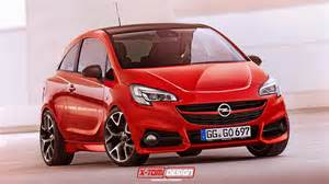 Opel Corsa Opc 2015 All New 2015 Opel Corsa Opc Rendered Autoevolution