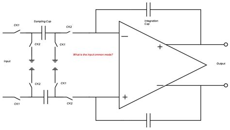 switched capacitor integrator output the designer s guide community forum input common mode of switched capacitor integrator