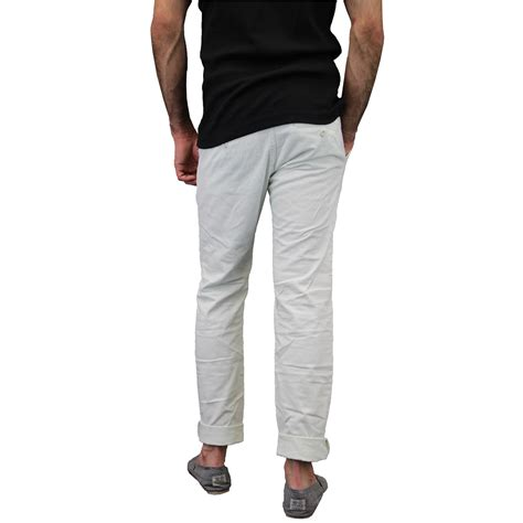 Mens Comfort Fit by Mens Chino Huston Harbour Kushiro City Trousers