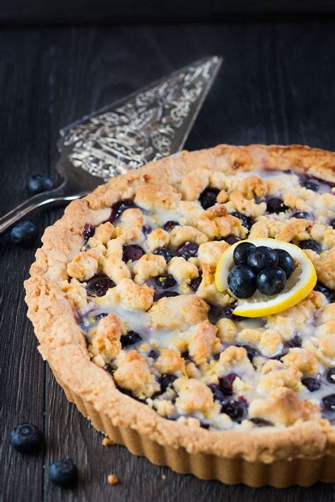 When Do Search For Recipes Blueberry Lemon Shortbread Tart Blueberry Pie Just Got A Sweet And Lemony Makeover