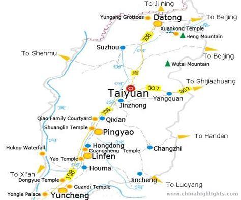 taiyuan maps map  taiyuan  china