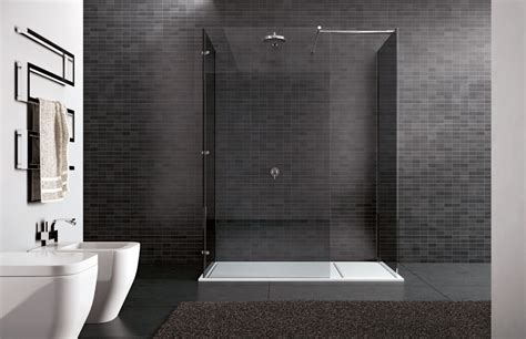 cabina doccia senza piatto walk in box doccia senza profili disenia