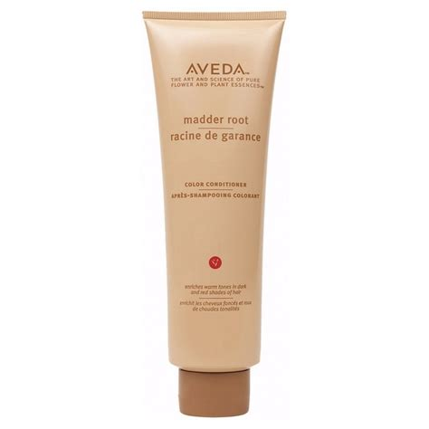 aveda hair color ingredients aveda madder root color conditioner 250 ml