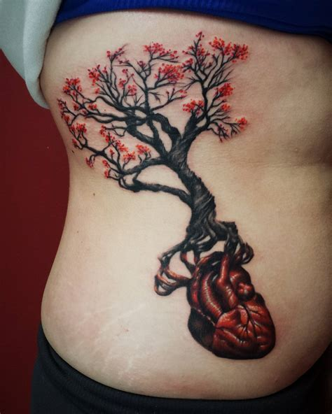 gnarly tree roots and anatomical heart john embry