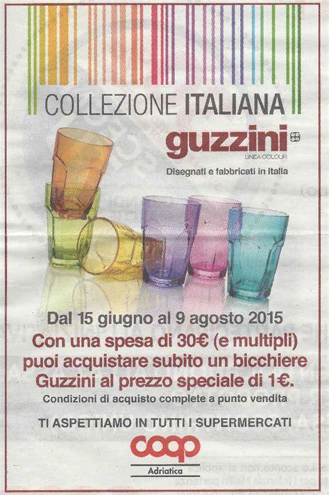 bicchieri coop coop adriatica bicchieri guzzini per l estate