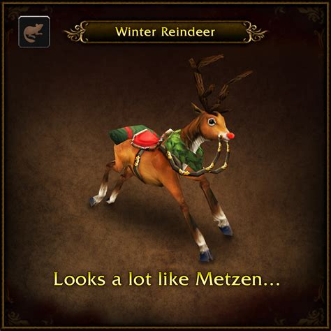 wow pug pet major payne s pet menagerie winter reindeer world of warcraft
