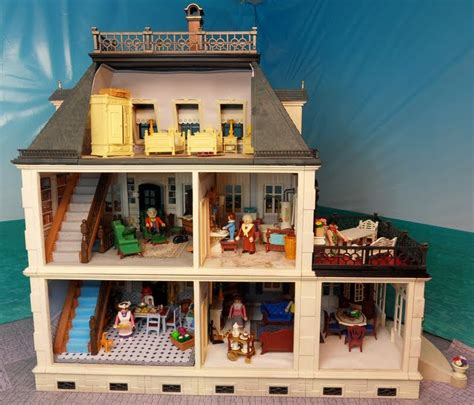 5300 Painted Victorian Mansion Emma J S Playmobil Playmobil House